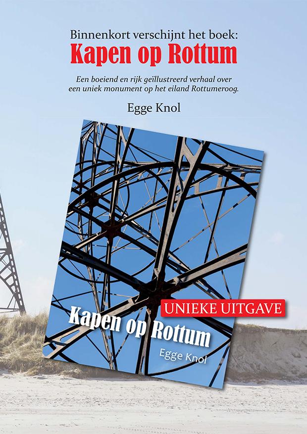 Baken 'Nieuw boek Kapen op Rottum verschijnt in oktober. Teken nu in.